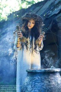 bruja caldero